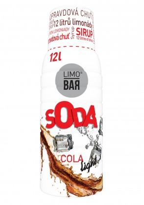 Příprava nápojů Sirup Cola light pro Limobar
