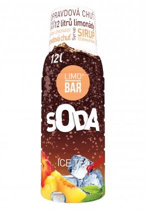 Příprava nápojů Sirup Ice Tea Broskev Limobar