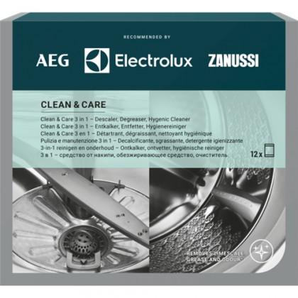 Přípravky do myčky Clean and Care - 3v1 pro myčky/pračky 12ks M3GCP400