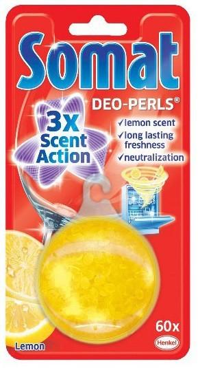 Přípravky do myčky Somat deo perly lemon 1 ks