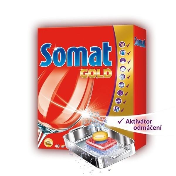 Přípravky do myčky Somat Gold tabs 48ks