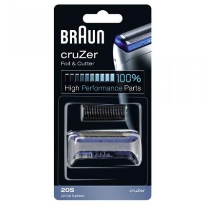 Příslušenství k holícím strojkům Braun Combipack 20S