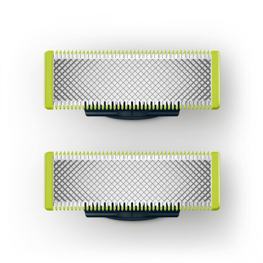 Příslušenství k holícím strojkům Náhradní hlavice Philips Oneblade QP220/55, 2ks