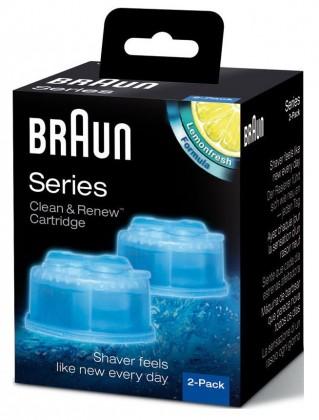 Příslušenství k holícím strojkům Náhradní náplně do čistíčí stanice Braun CCR2, 2ks