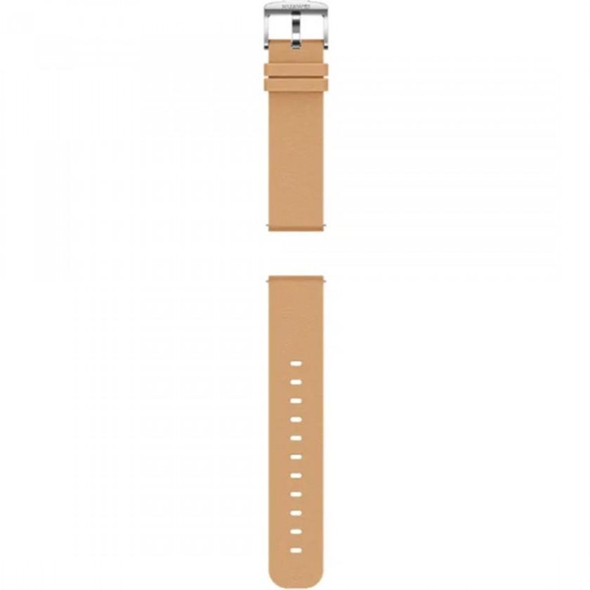 Příslušenství k nositelné elektronice Řemínek Huawei, š. 20mm, kožený, hnědá