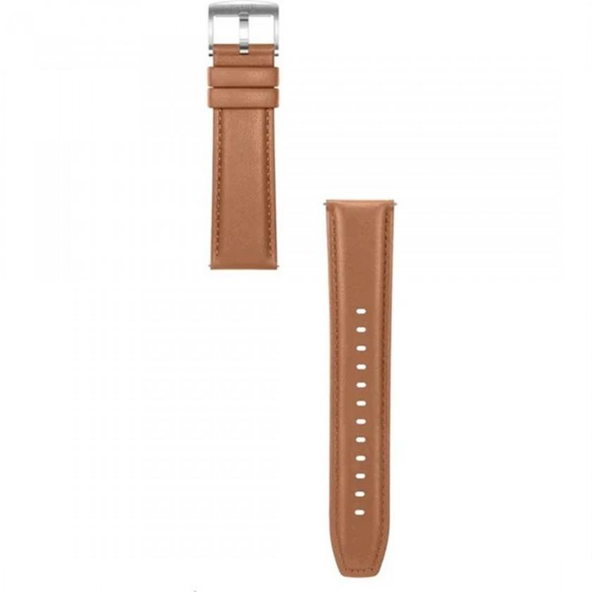 Příslušenství k nositelné elektronice Řemínek Huawei, š. 22mm, kožený, hnědá