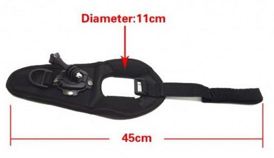 Příslušenství k outdoor kamerám Apei Outdoor 360-degree Rotation Glove-style Mount 4/3+/3/2/1