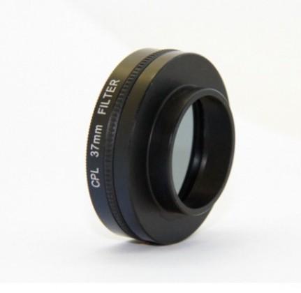 Příslušenství k outdoor kamerám Apei Outdoor CPL Filter & Lens 37mm for GoPro 4/3+/3