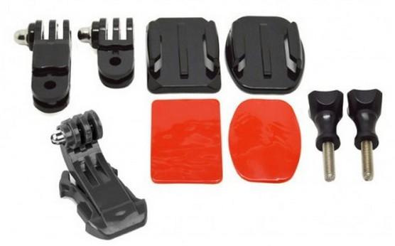 Příslušenství k outdoor kamerám Apei Outdoor Helmet Front Mount for GoPro Hero 4/3+/3/2/1
