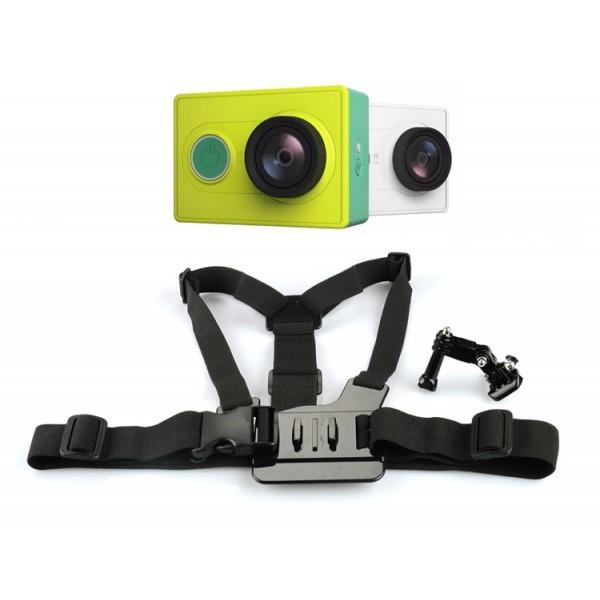 Příslušenství k outdoor kamerám Držák na hruď pro akční kameru Xiaomi Yi Action