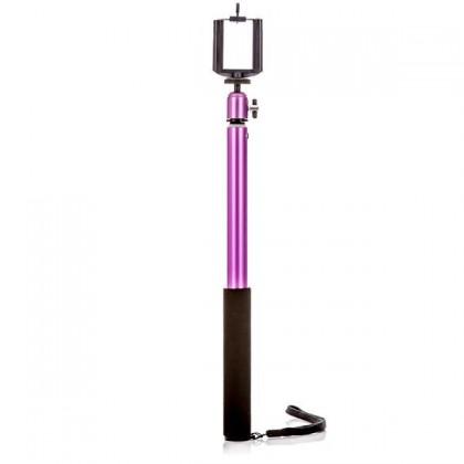 Příslušenství k outdoor kamerám MadMan Selfie tyč PRO RC 112 cm fialová (monopod) ROZBALENO