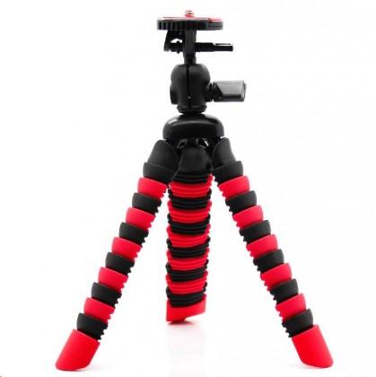 Příslušenství k outdoor kamerám Madman Stativ chobotnice malý - červený