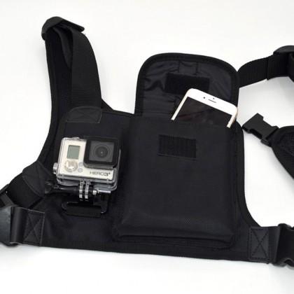 Příslušenství k outdoor kamerám Multifukční postroj NICEBOY - úchyty na dvě kamery