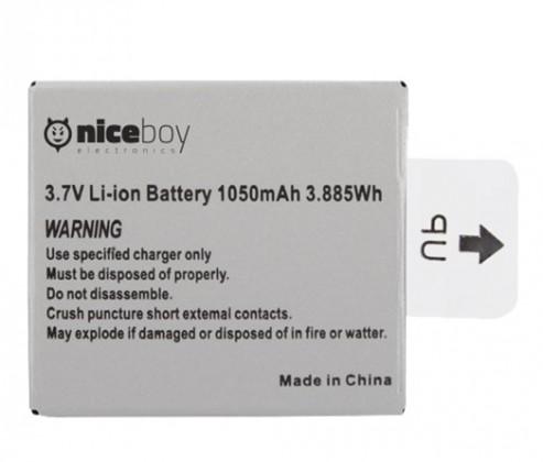 Příslušenství k outdoor kamerám Niceboy VEGA 4K náhradní baterie