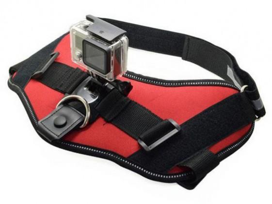 Příslušenství k outdoor kamerám Postroj NICEBOY pro uchycení kamery na psa/kočku
