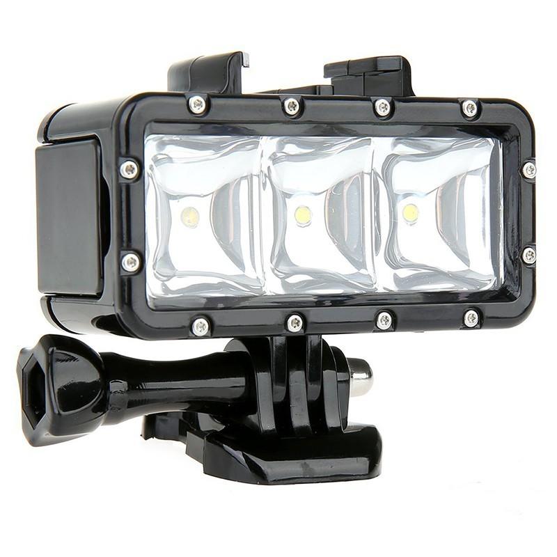 Příslušenství k outdoor kamerám POV světlo NICEBOY pro akční kamery
