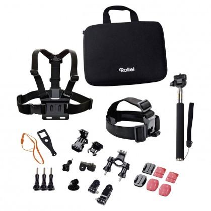 Příslušenství k outdoor kamerám Sada příslušenství pro outdoor pro kamery ROLLEI a GoPro