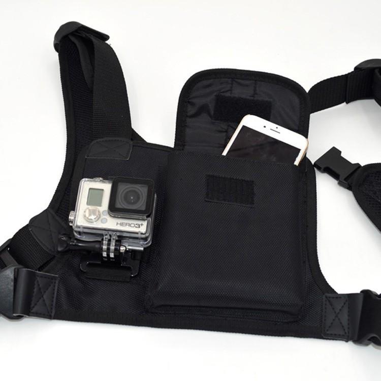 Příslušenství k outdoor kamerám Univerzální postroj na tělo pro akční kamery N256