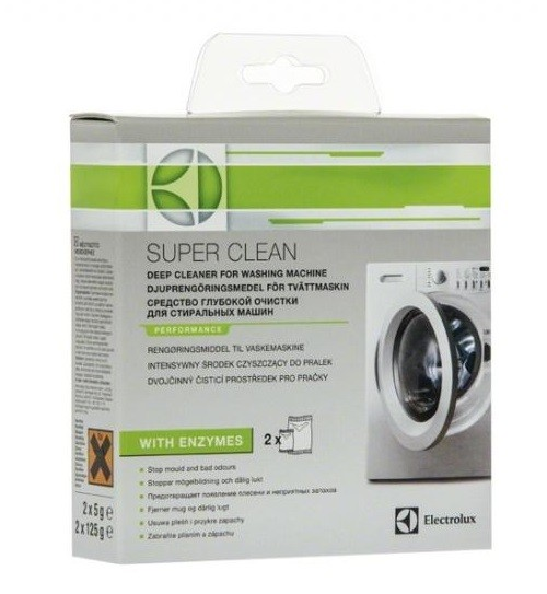 Příslušenství k pračkám Speciální čistič praček Electrolux Speciál