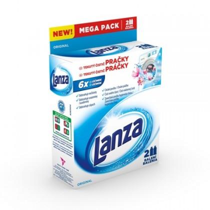 Příslušenství k pračkám Tekutý čistič pračky Lanza A000007875, Original, 2x250ml