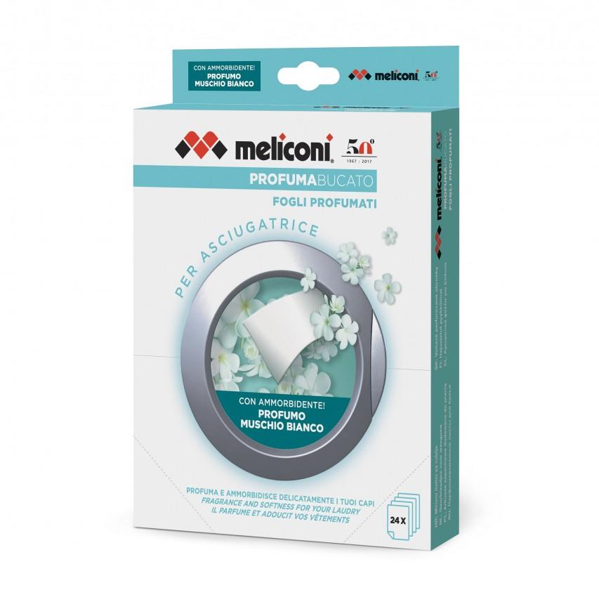 Příslušenství k pračkám Vonné ubrousky do sušičky Meliconi M656152, 24ks