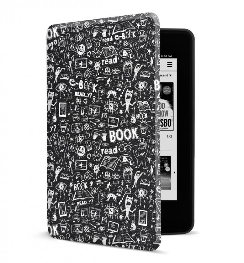 Příslušenství pro čtečky knih Pouzdro pro Amazon Kindle Paperwhite 4, doodle