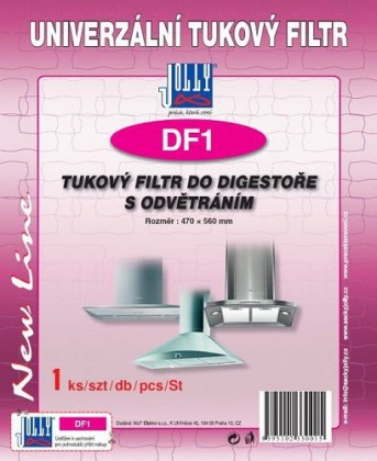 Příslušenství pro odsavače par Tukový filtr Jolly DF1