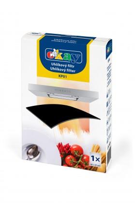 Příslušenství pro odsavače par Univerzální uhlíkový filtr pro odsávače K&M KP01