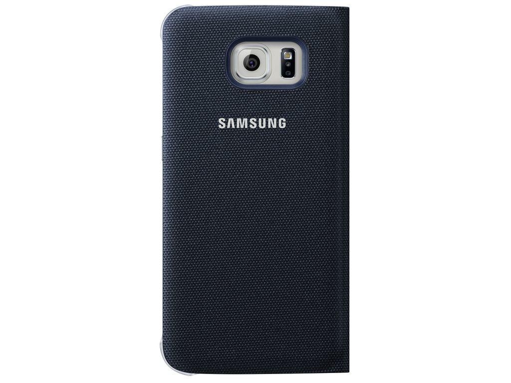 Příslušenství pro S6 Samsung textilní pouzdro pro Galaxy S6, černé