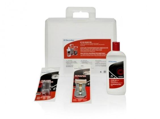 Příslušenství pro sporáky Electrolux sada pro údržbu keramické desky (50291276009)
