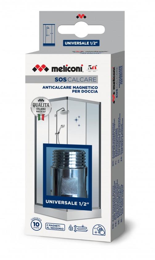 Příslušenství pro sporáky Magnetický ostraňovač vodního kamene do sprchy Meliconi M656155