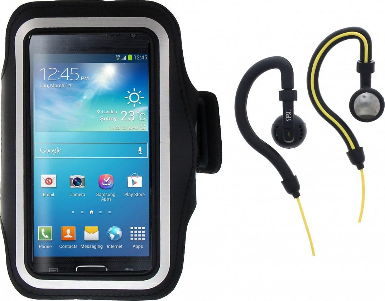Příslušenství pro sport SPORT PACK Sluchátka s klipem + pouzdro na paži, černé