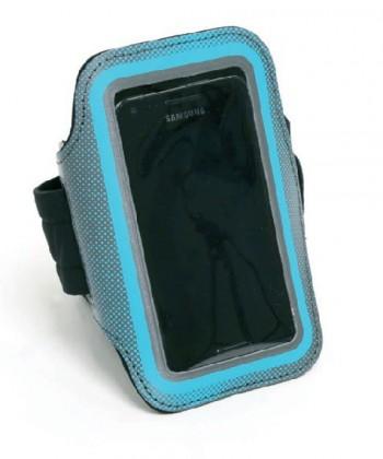 Příslušenství pro sport Sportovní obal na mobil PLATINET, modrý