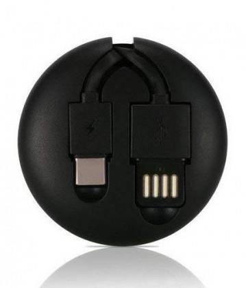 Pro Apple 2v1 Kabel Remax USB Typ C/Lightning na USB, 1m, černá