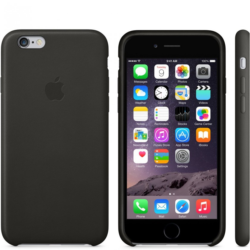 Pro Apple Apple iPhone 6 Leather Case Black