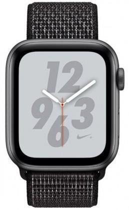 Pro Apple Apple Watch Nike+ Series 4 GPS, 44mm, šedá, provlékací řemínek