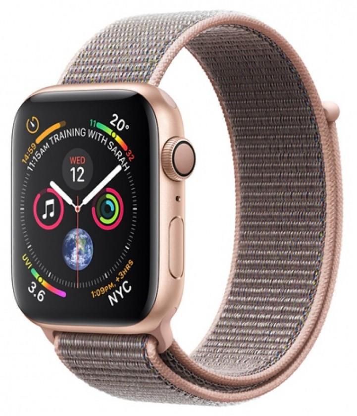 Pro Apple Apple Watch Series 4 GPS, 40mm, růžová, provlékací řemínek