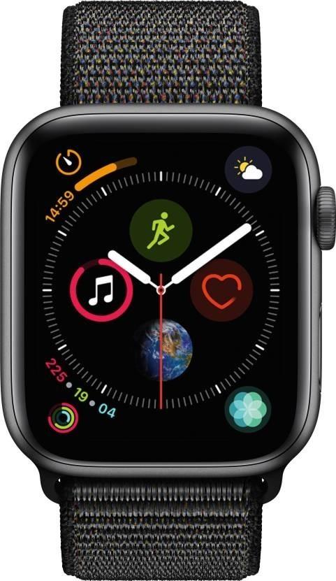 Pro Apple Apple Watch Series 4 GPS, 44mm, šedá, provlékací řemínek