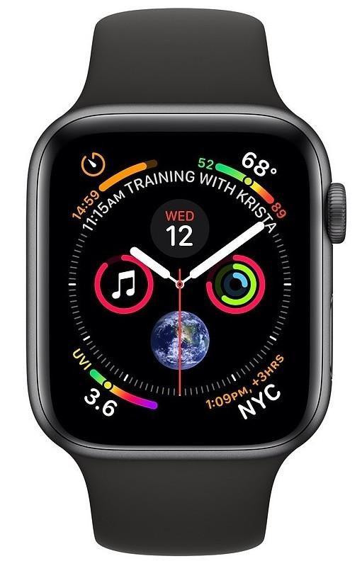 Pro Apple Apple Watch Series 4 GPS, 44mm, šedá, sportovní řemínek
