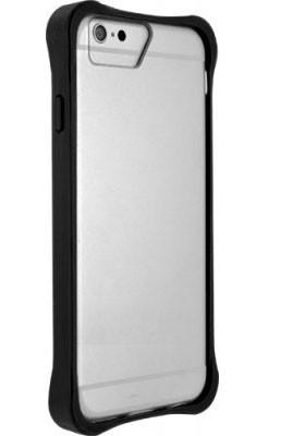 Pro Apple Bigben Bumper+transparentni oteviraci obal pro IPHONE 6/6s,černá