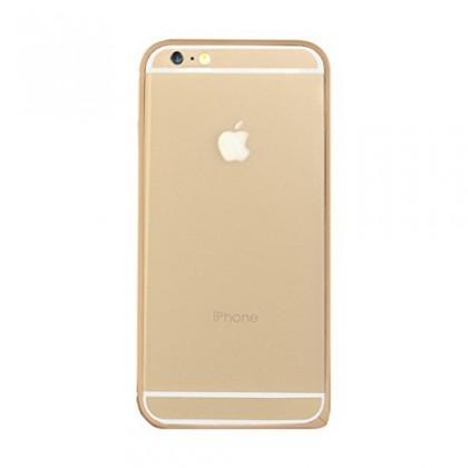 Pro Apple Bigben Bumper zlaty+ochranpro folie pro IPHONE 6/6s