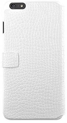 Pro Apple Bigben Folio pro IPHONE 6/6s Croco ,bílá-kovove logo