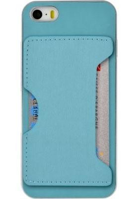 Pro Apple Bigben gelskin pro iPhone 6/6s s kapsou, modrá
