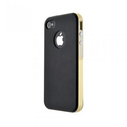 Pro Apple Bigben Hard Shell pro Iphone 6/6s, černá/zlatá