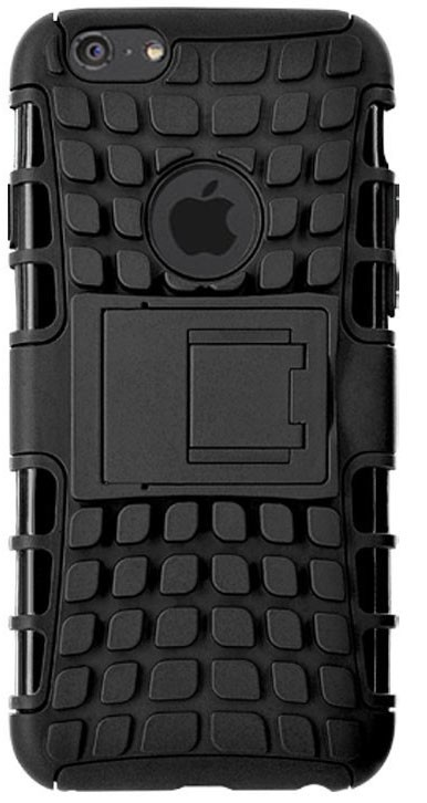Pro Apple Bigben Hard shell se stojankem+ochranne sklo pro IPHONE 6/6s