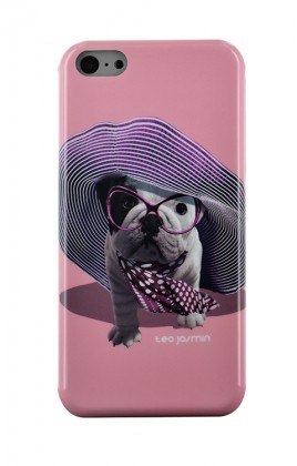 Pro Apple Bigben Kryt pro IPHONE 5/5c/5s Teo Croisette,růžová