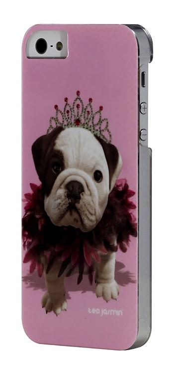 Pro Apple Bigben Kryt pro IPHONE 5/5c/5s Teo Queen,růžová