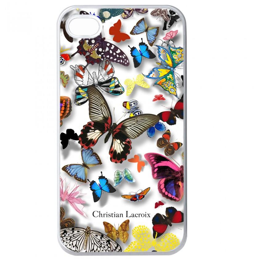 Pro Apple Bigben kryt pro iPhone 6/6s Butterfly 3D, bílá