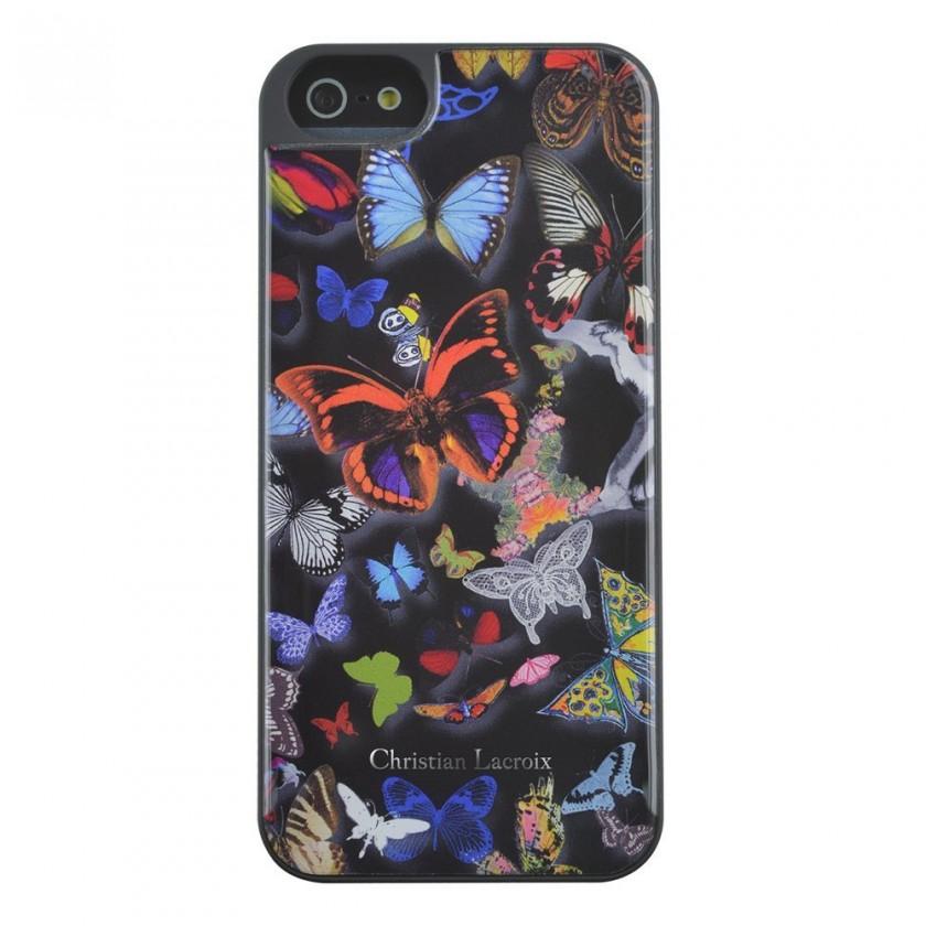 Pro Apple Bigben kryt pro iPhone 6/6s Butterfly 3D, černá