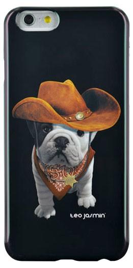 Pro Apple Bigben Kryt pro IPHONE 6 Teo Cowboy,černá